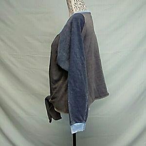 Ocean Drive Tops - Ocean drive tie front sweatshirt